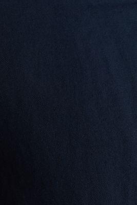 Linen blend: bomber jacket, NAVY, detail