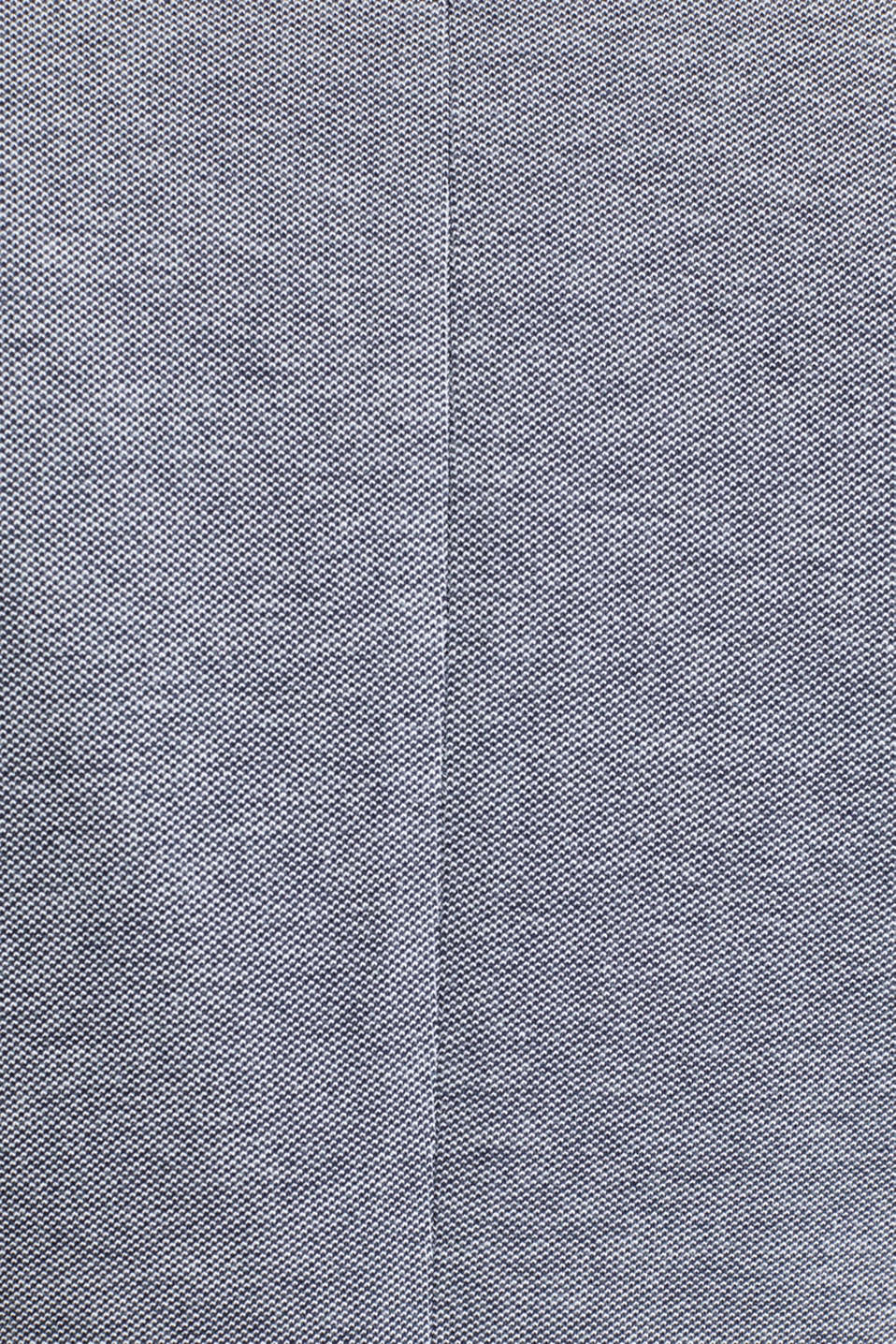 Jersey jacket made of 100% cotton, MEDIUM GREY 5, detail image number 5