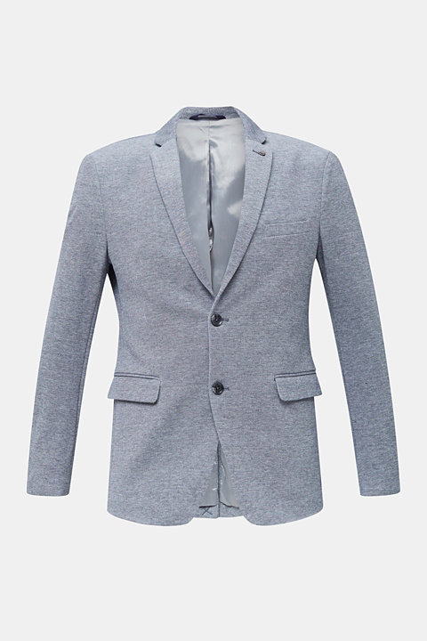 Jersey jacket made of 100% cotton