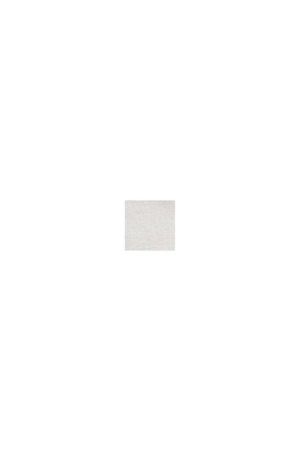 Jersey-Sakko aus 100% Baumwolle, LIGHT KHAKI, swatch
