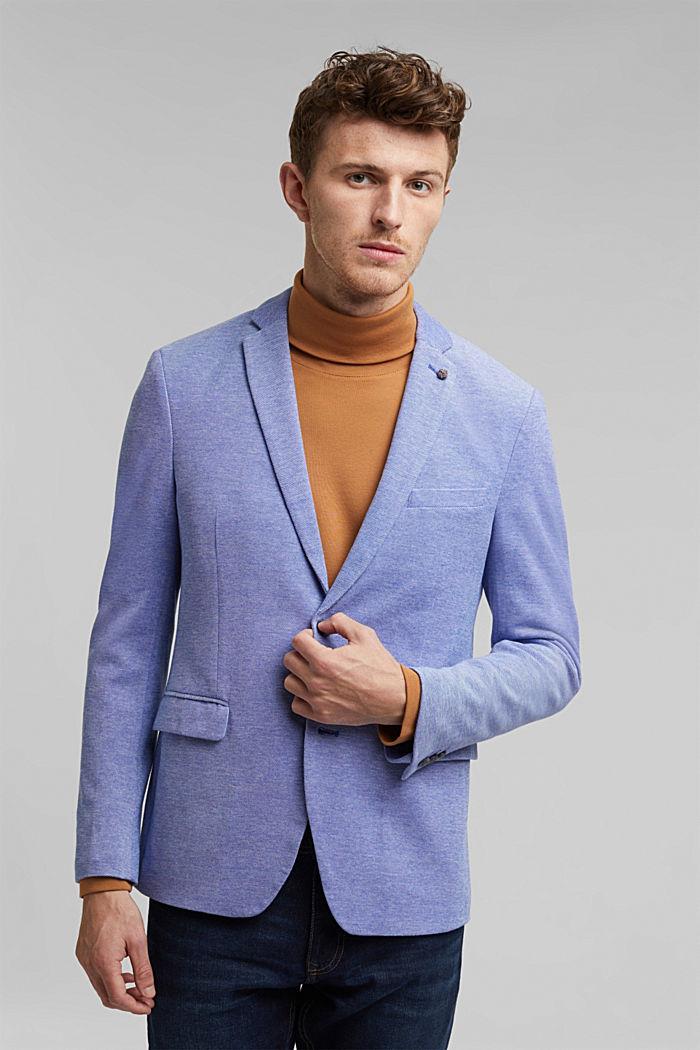 Jersey-Sakko aus 100% Baumwolle