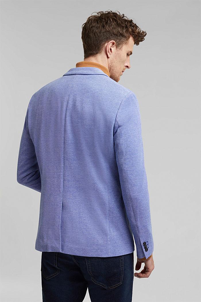 Jersey-Sakko aus 100% Baumwolle, LIGHT BLUE, detail image number 3