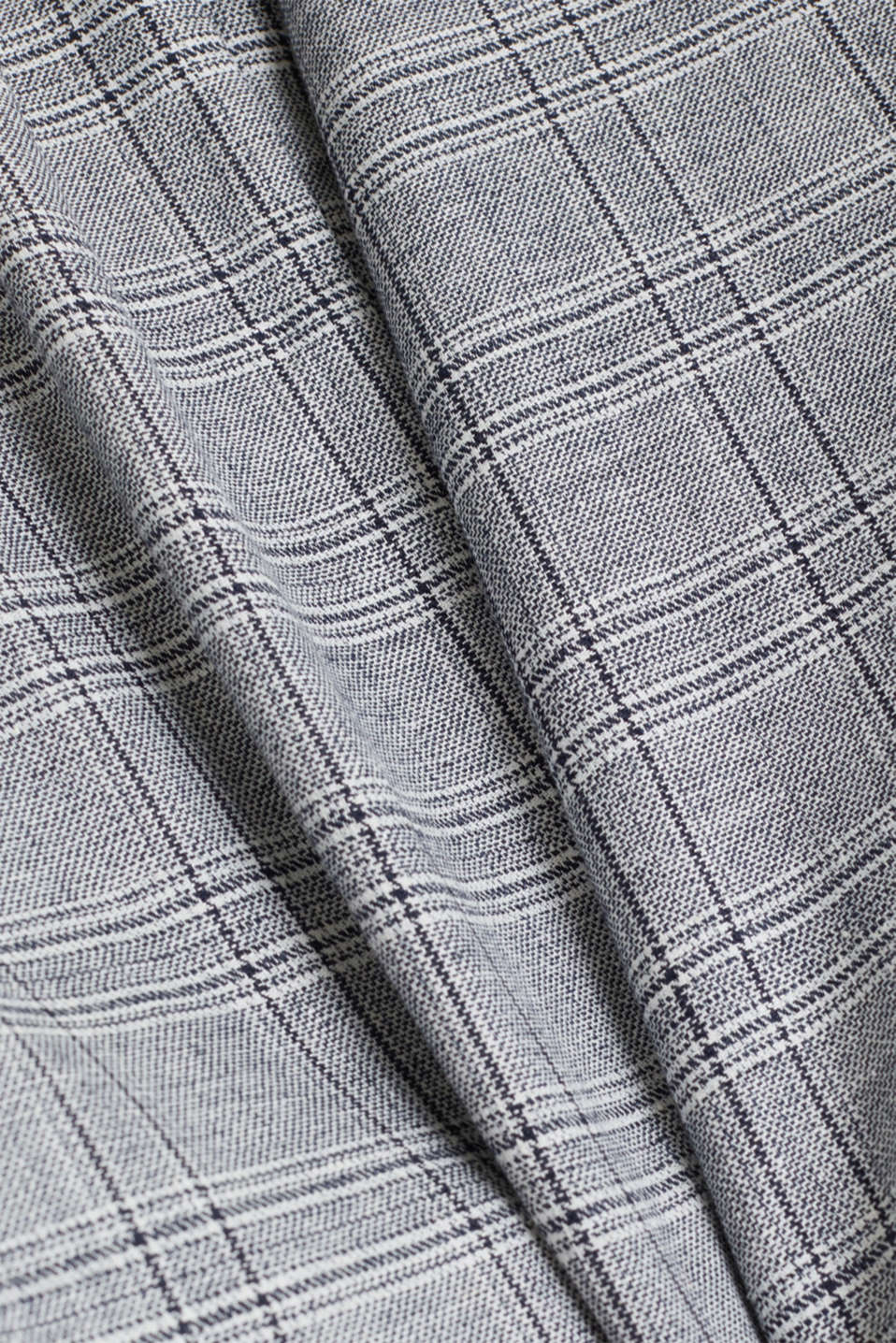 SUMMER CHECK mix + match tailored jacket, BLUE 3, detail image number 5