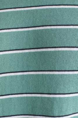 Jumper made of 100% organic cotton, TEAL GREEN 3, detail