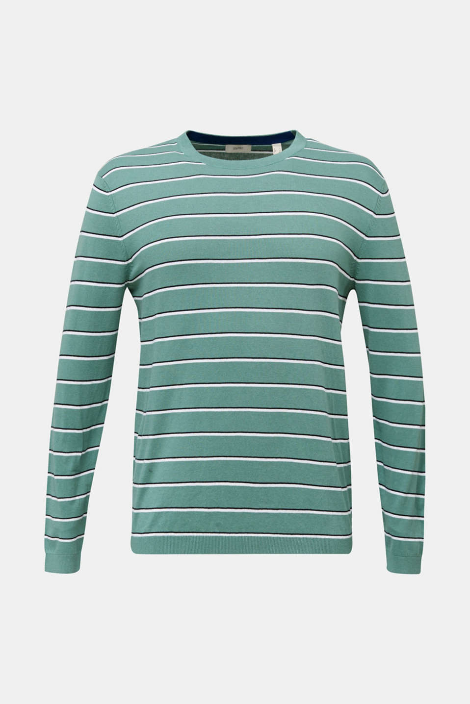 Jumper made of 100% organic cotton, TEAL GREEN 3, detail image number 7
