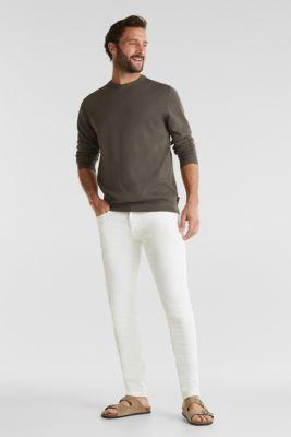 EarthColors®: cotton jumper, DARK KHAKI, detail