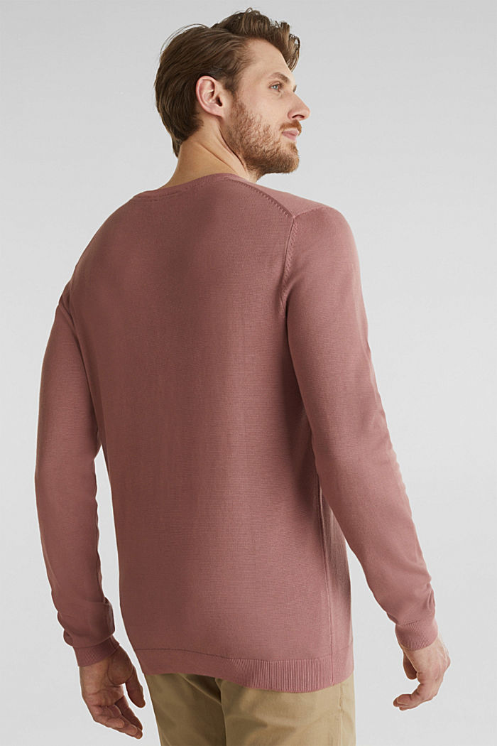 EarthColors®: cotton jumper, BLUSH, detail image number 3