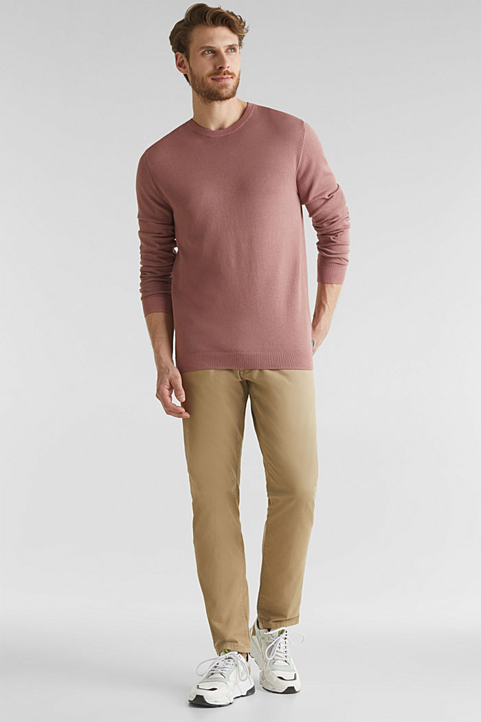 EarthColors®: cotton jumper, BLUSH, detail image number 1