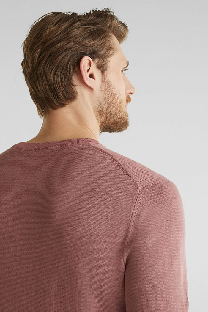 EarthColors®: cotton jumper, BLUSH, detail image number 2