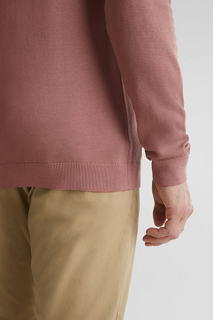 EarthColors®: cotton jumper, BLUSH, detail image number 5