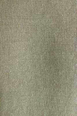 100% linen: knit jumper, LIGHT KHAKI, detail