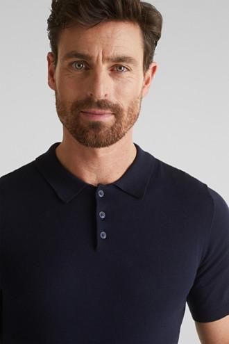 Polo jumper, 100% organic cotton