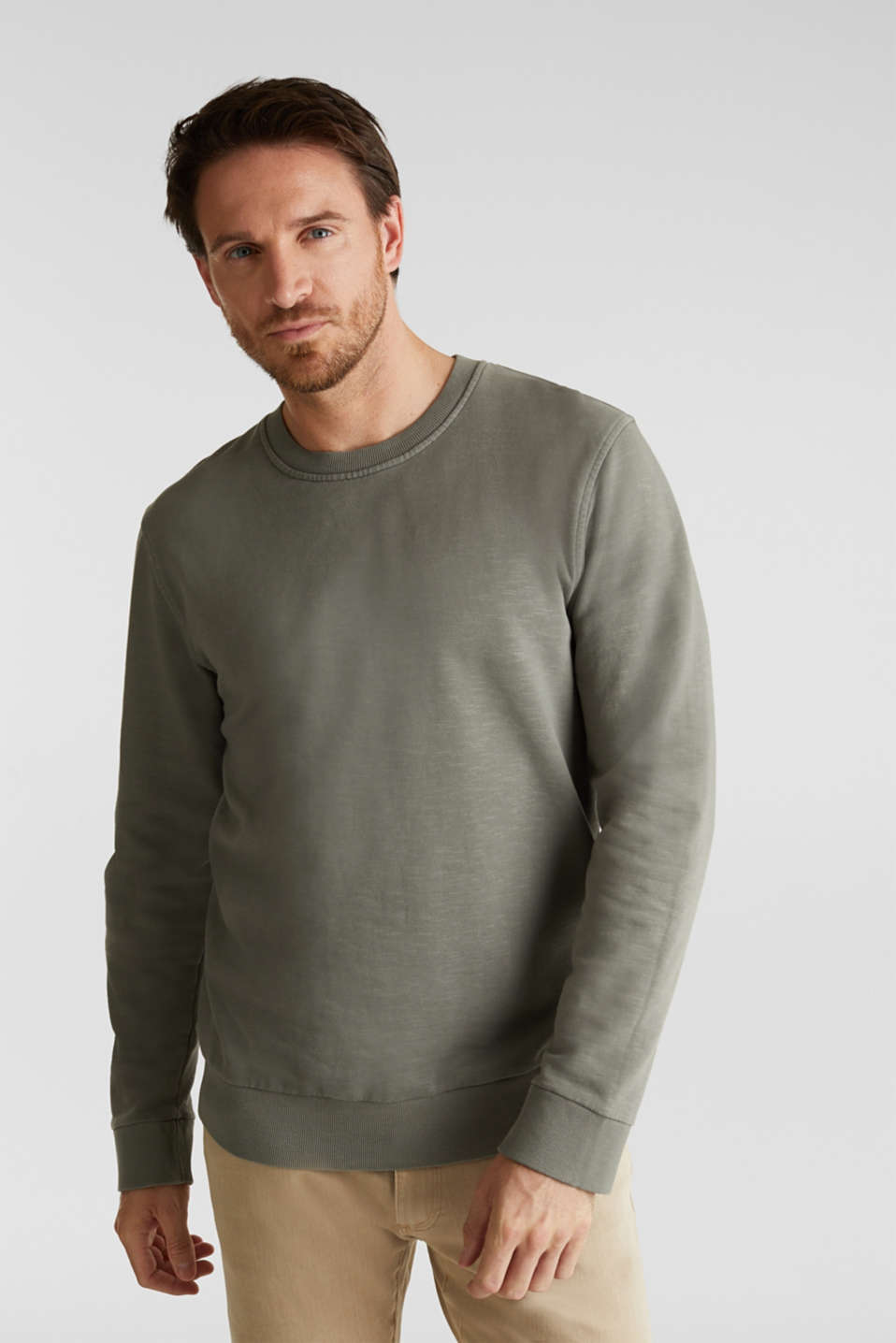 Esprit - EarthColors®: cotton sweatshirt