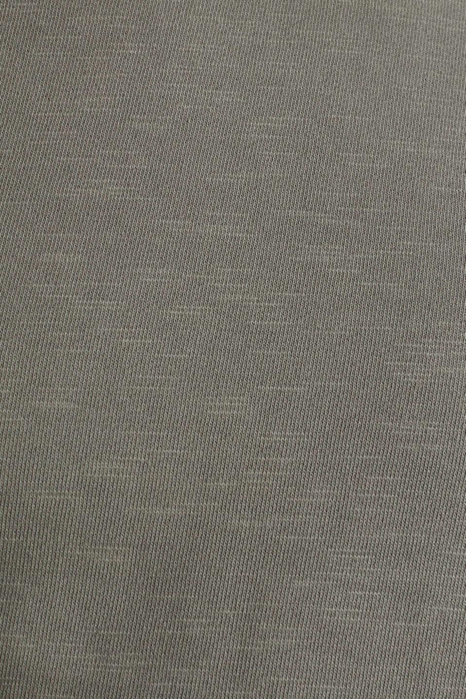 EarthColors®: cotton sweatshirt, DARK KHAKI 2, detail image number 4