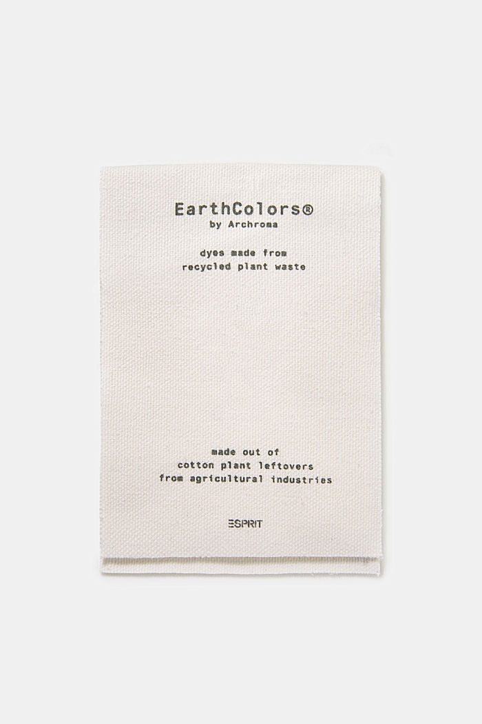 EarthColors®: Piqué-Shirt, DARK KHAKI, detail image number 7