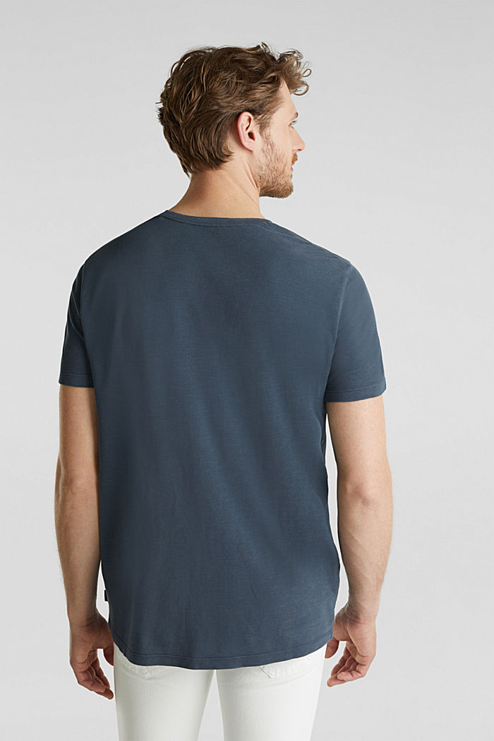 EarthColors®: Piqué-shirt, NAVY, detail image number 3