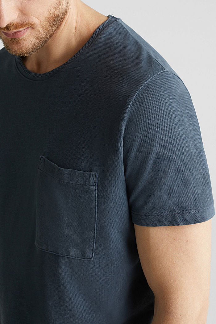 EarthColors®: piqué top, NAVY, detail image number 1