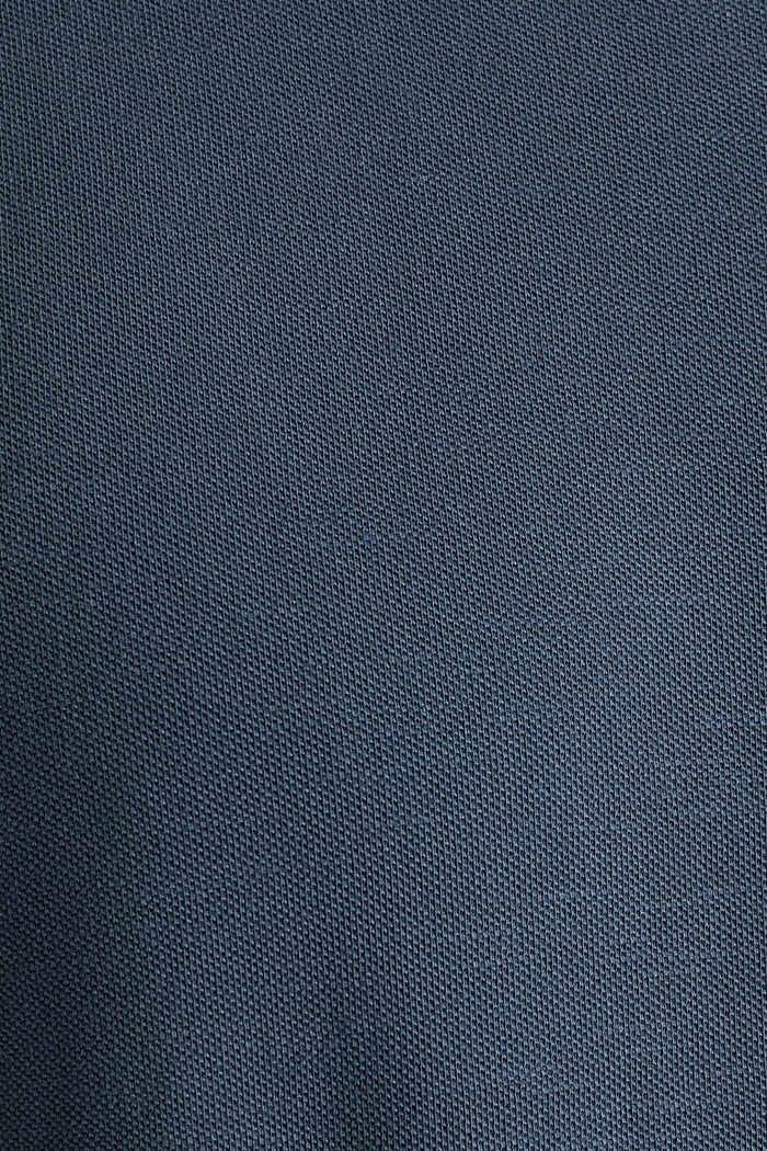 EarthColors®: Piqué-Shirt, NAVY, detail image number 5