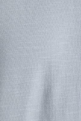 EarthColors®: piqué top, PASTEL BLUE 2, detail