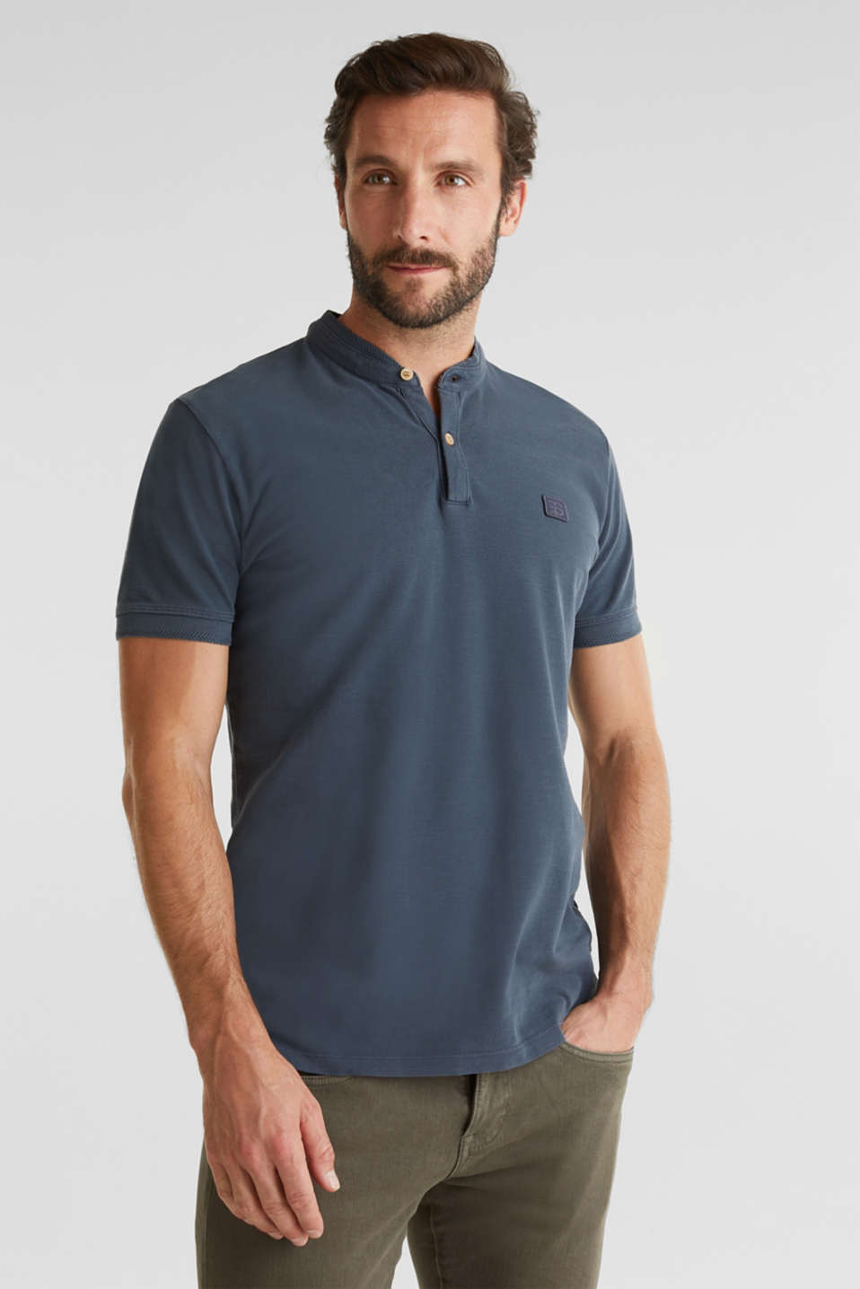 Esprit - EarthColors®: polo in piqué.