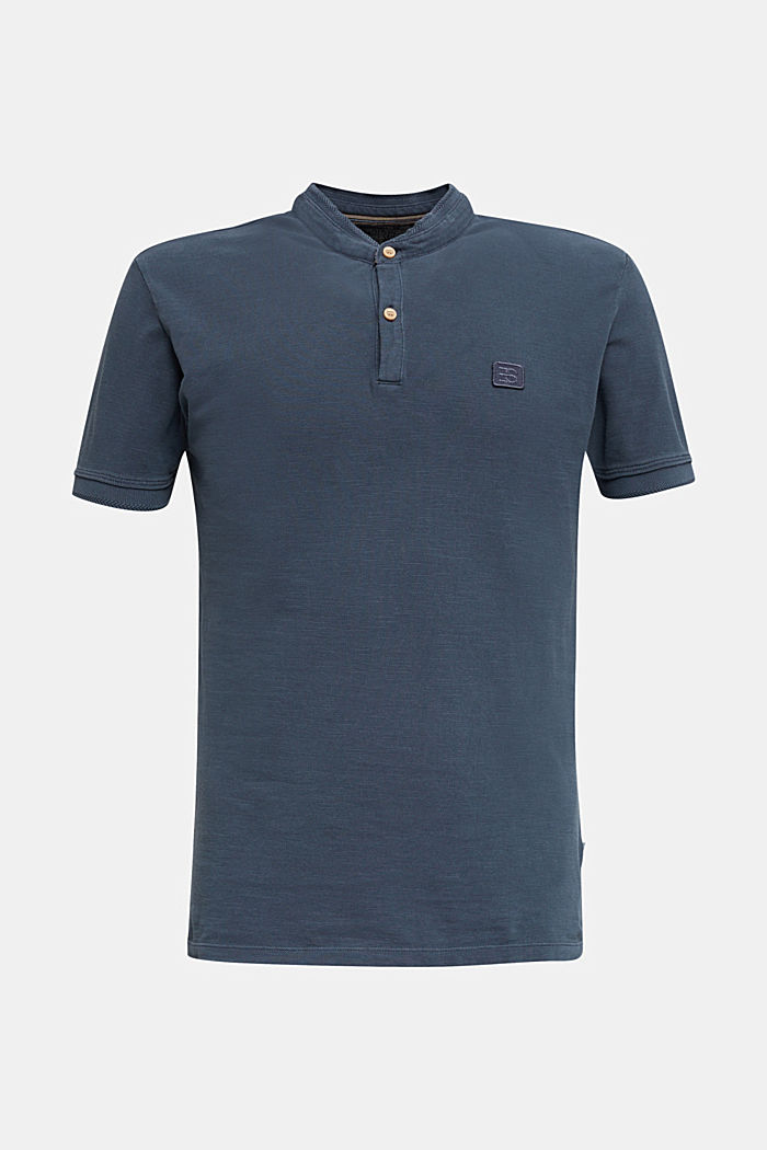 EarthColors®: piqué polo shirt, NAVY, detail image number 8