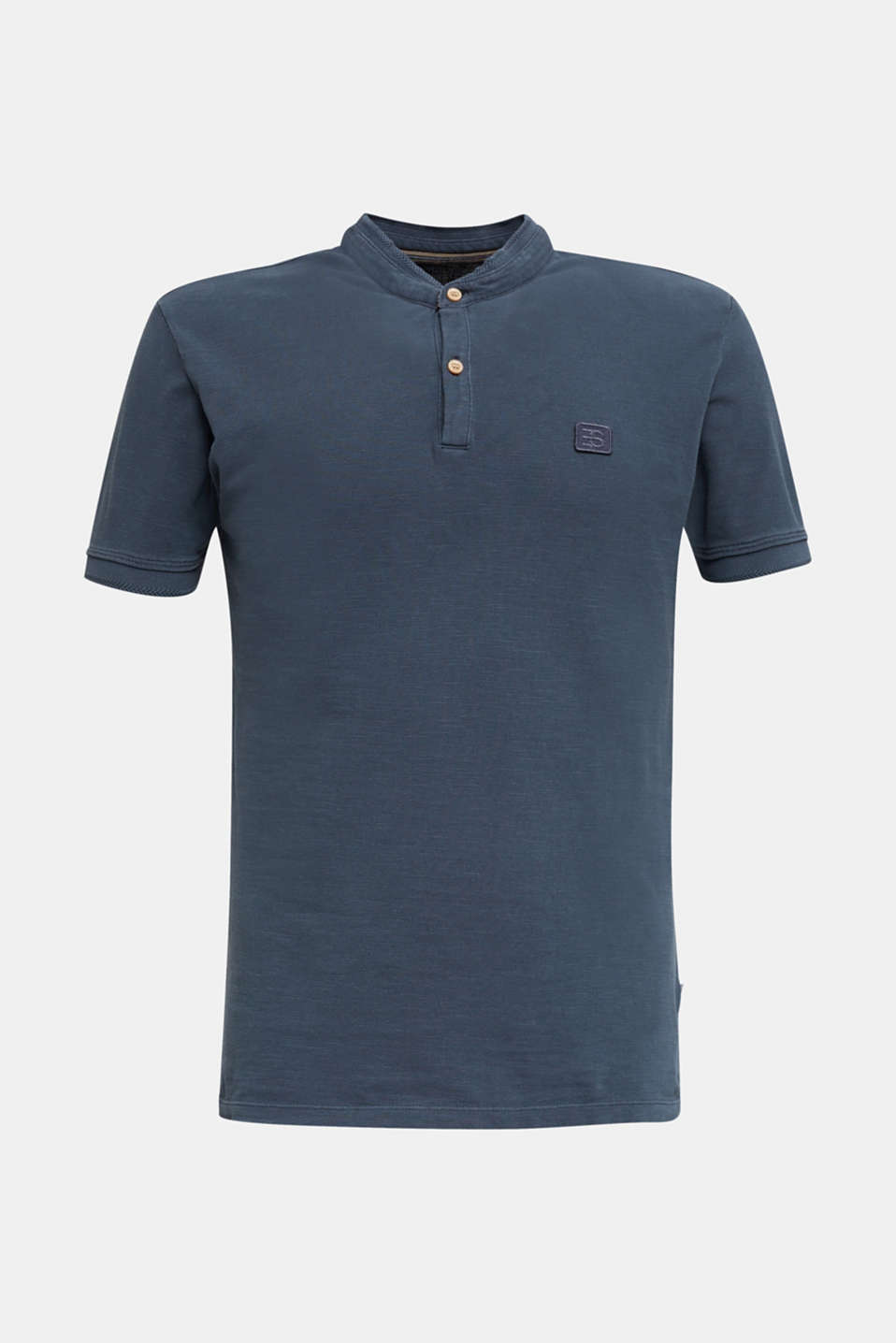 EarthColors®: piqué polo shirt, NAVY 2, detail image number 6