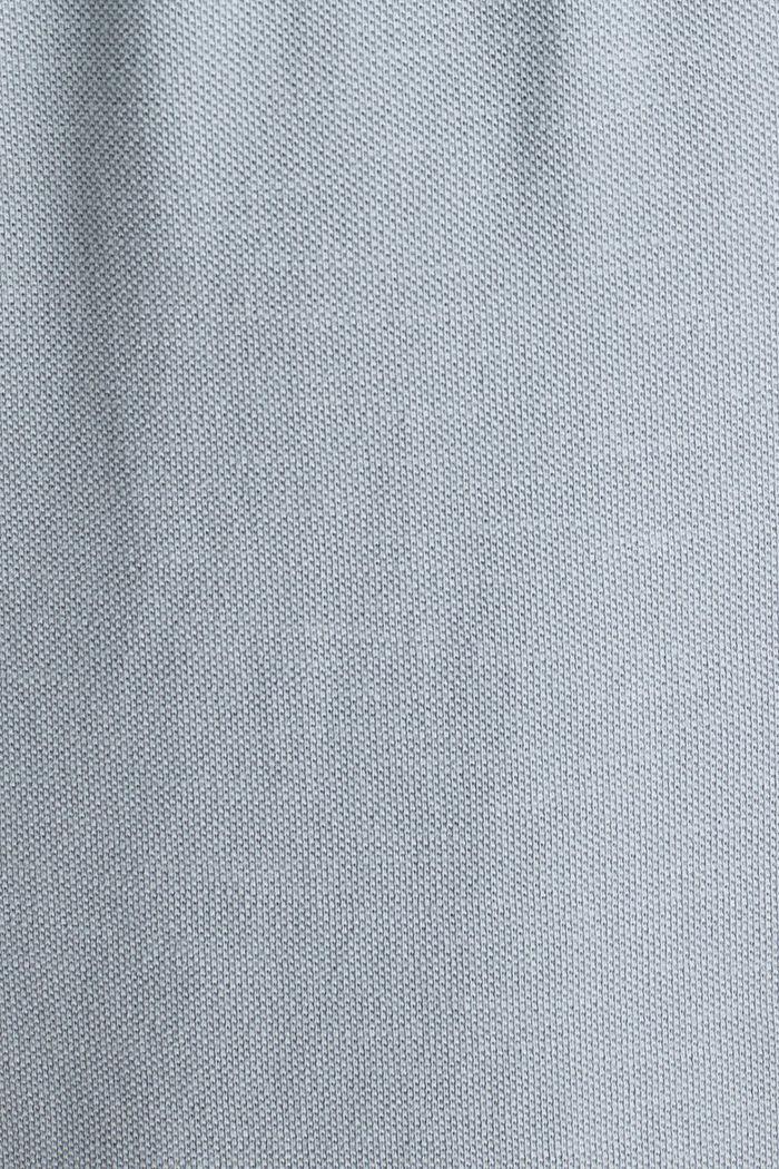EarthColors®: Piqué-Poloshirt, PASTEL BLUE, detail image number 4