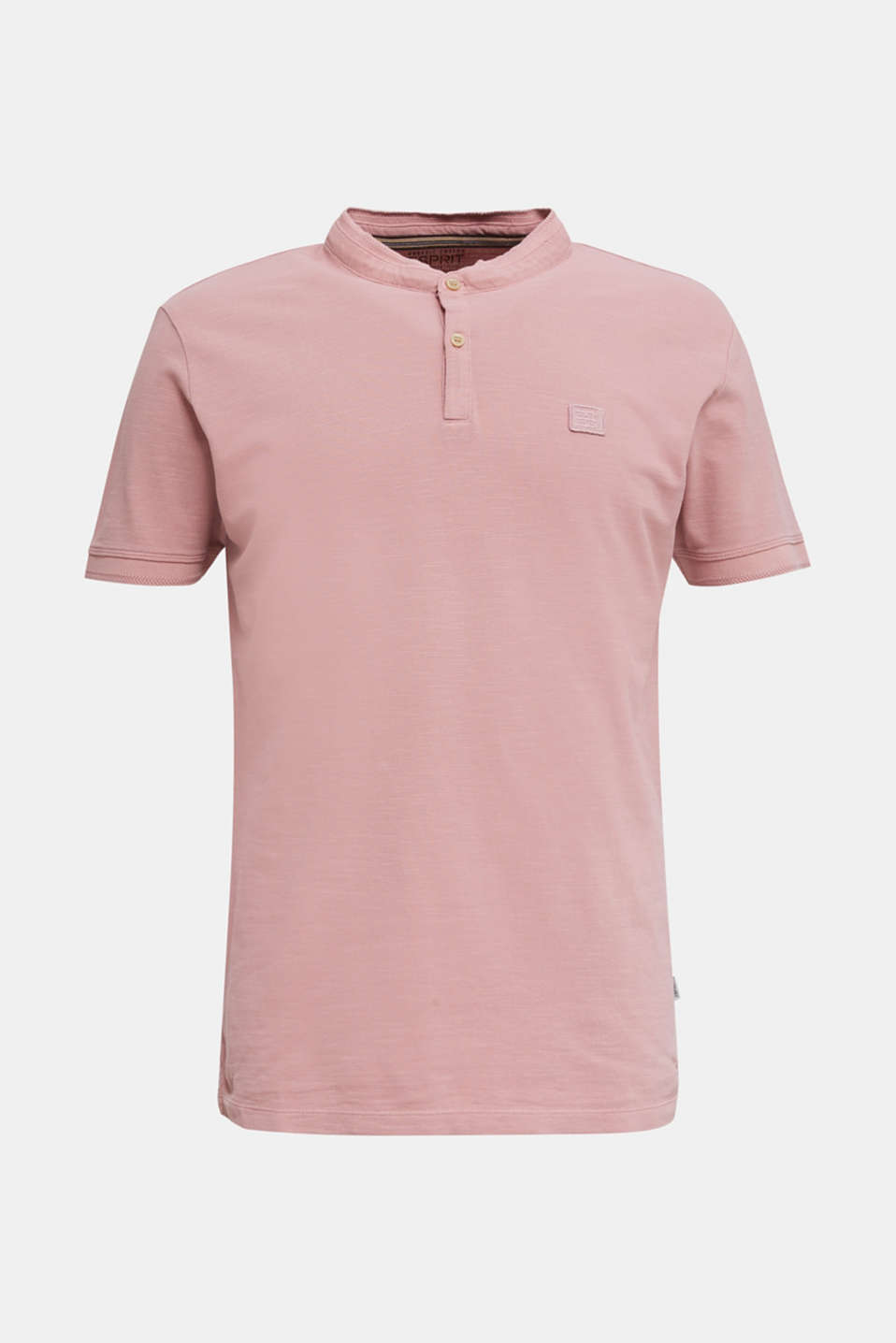 EarthColors®: piqué polo shirt, BLUSH, detail image number 7