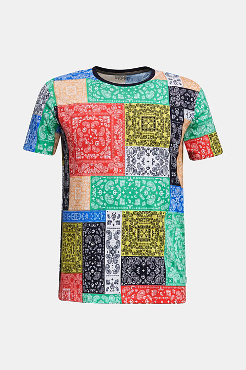 Printed jersey top made of 100% organic cotton
