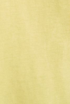 Jersey top with logo print, LIGHT YELLOW, detail