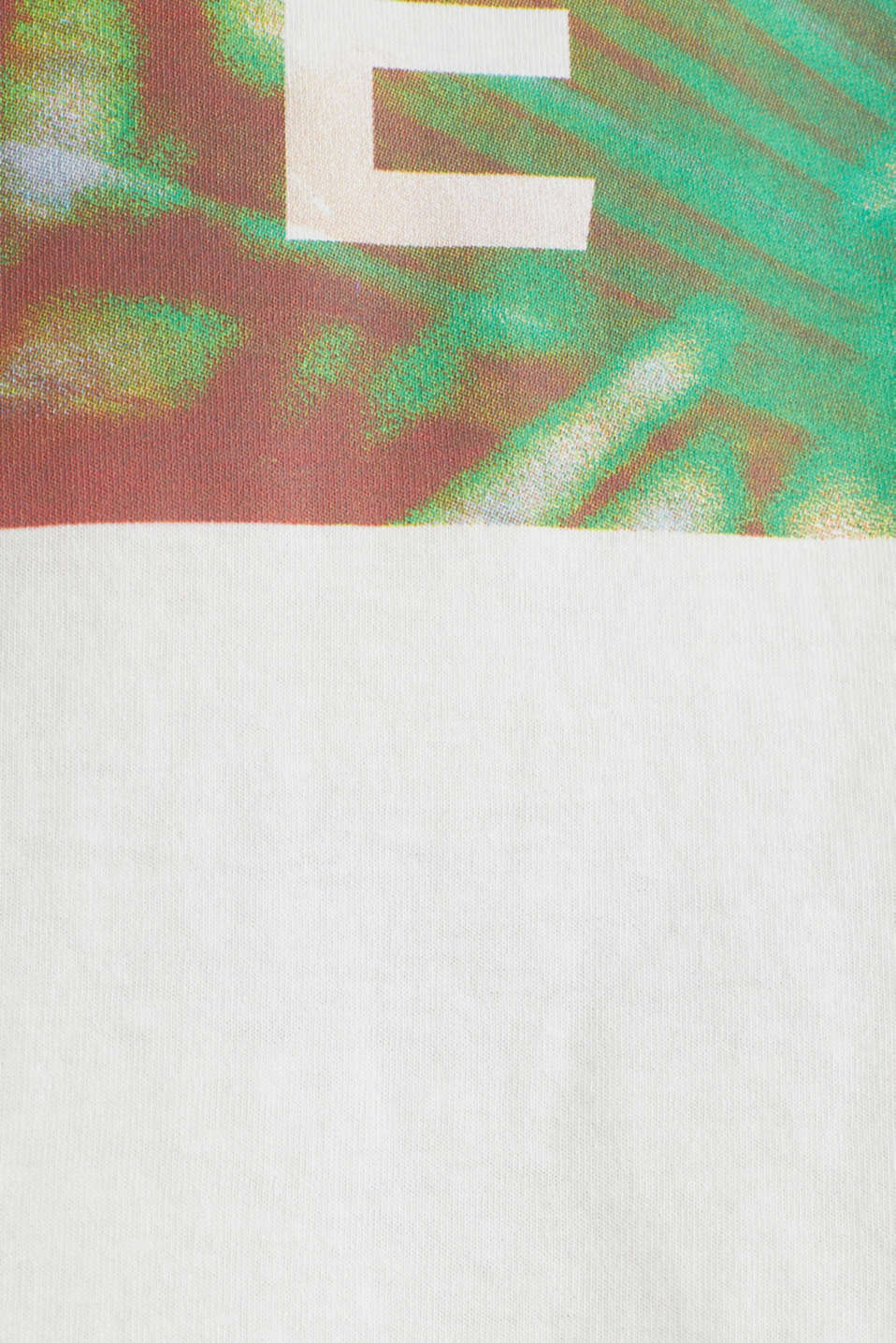 Jersey T-shirt with a print, 100% cotton, OFF WHITE, detail image number 4