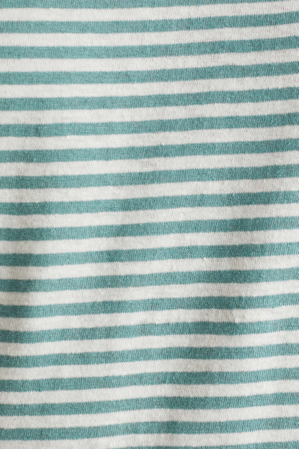 With linen: Jersey top with a pocket, TEAL GREEN 3, detail image number 5