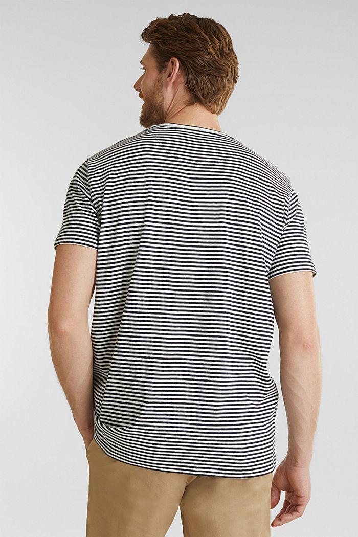 Met linnen: jersey shirt met zak, NAVY, detail image number 2