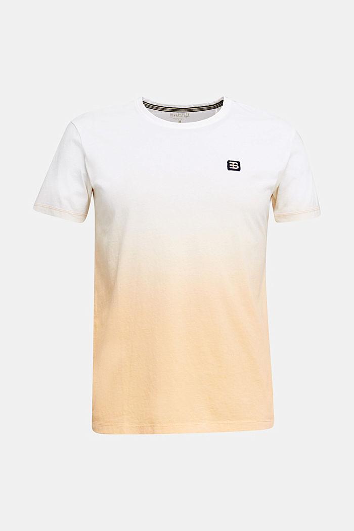 Jersey shirt met kleurverloop, 100% katoen