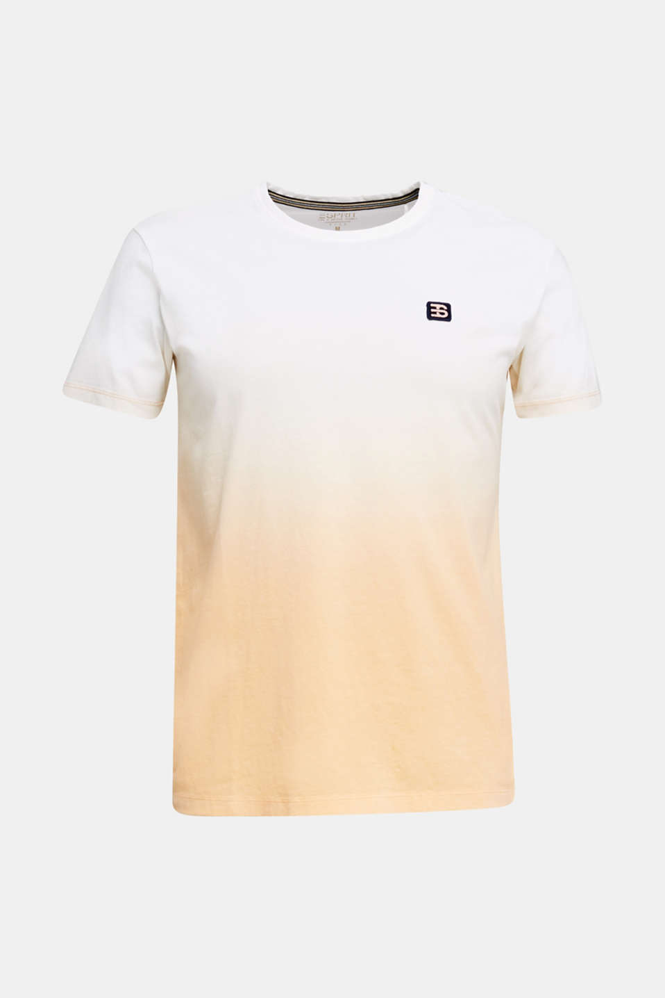 Jersey T-shirt with graduated colours, 100% cotton, PEACH 2, detail image number 6