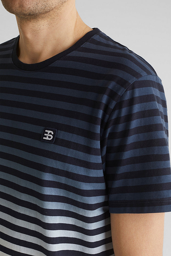 Jersey T-shirt in 100% cotton, NAVY, detail image number 1