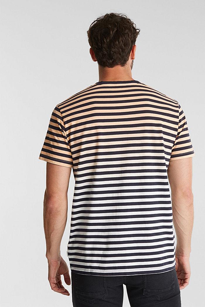 Jersey-Shirt aus 100% Baumwolle, PEACH, detail image number 3