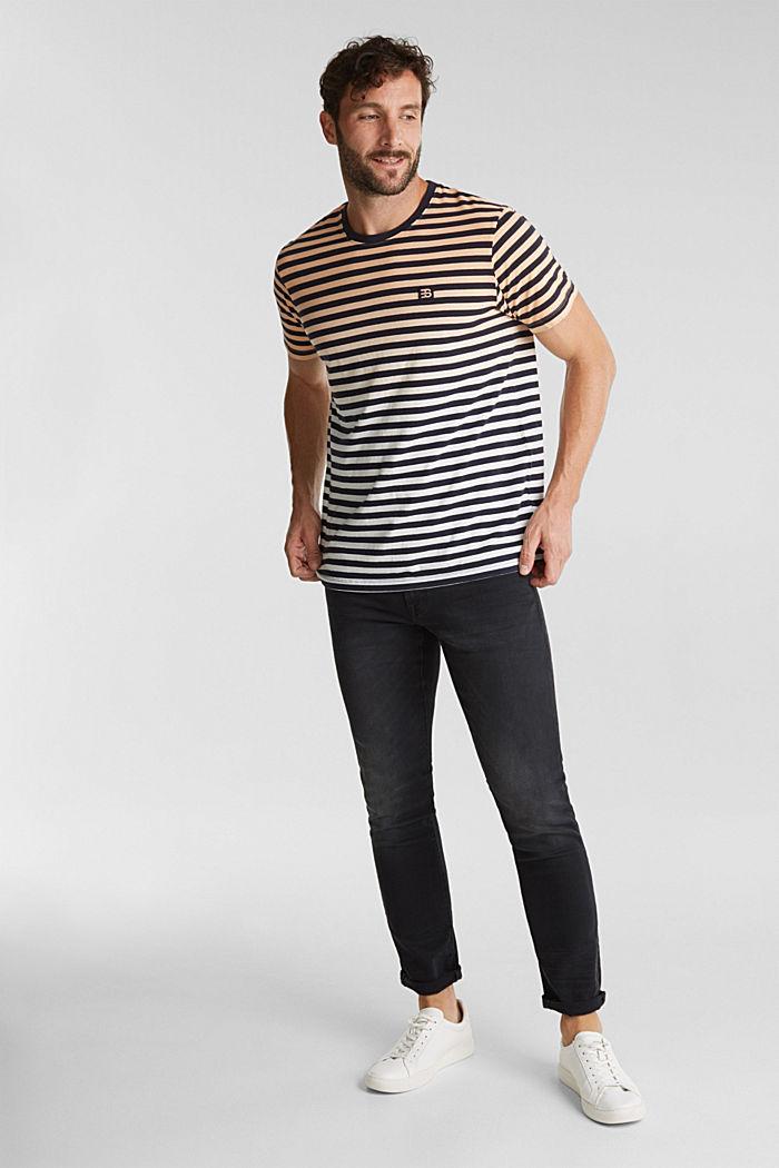 Jersey-Shirt aus 100% Baumwolle, PEACH, detail image number 2