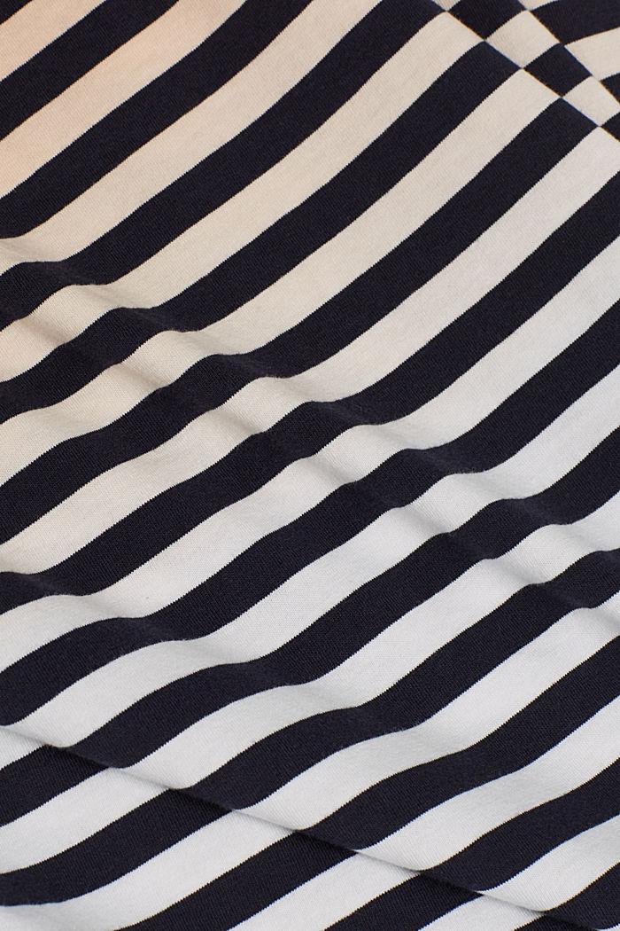 Jersey-Shirt aus 100% Baumwolle, PEACH, detail image number 4