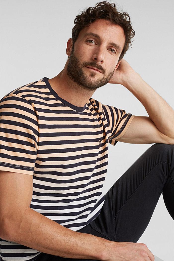 Jersey-Shirt aus 100% Baumwolle, PEACH, detail image number 5