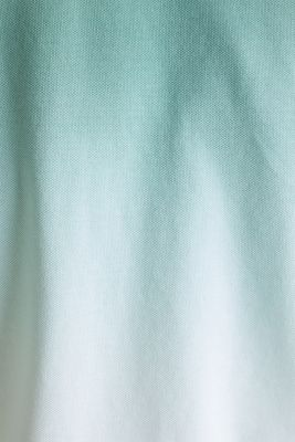 Piqué polo shirt with colour graduation, TEAL GREEN 2, detail