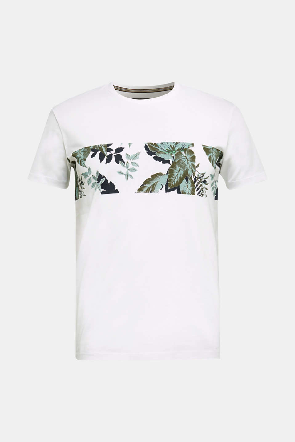 Jersey T-shirt in 100% cotton, WHITE 4, detail image number 6