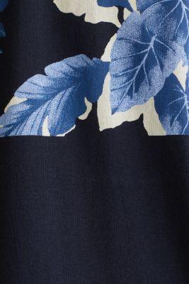 Jersey T-shirt in 100% cotton, NAVY 4, detail