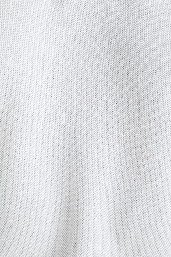Piqué-Poloshirt aus 100% Bio-Baumwolle, WHITE, detail image number 4