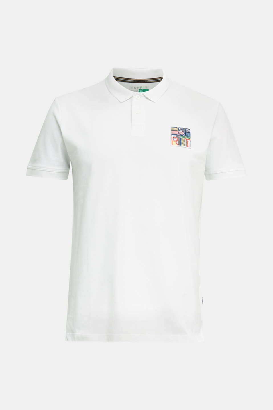 Polo shirt, WHITE, detail image number 6