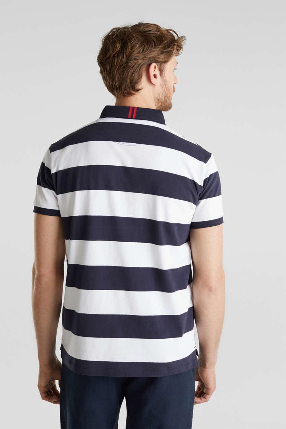 Jersey blouse, 100% organic cotton, NAVY 3, detail image number 3
