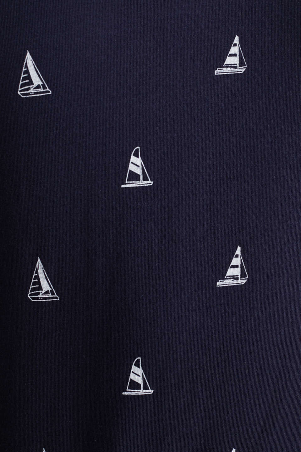 Jersey polo shirt in 100% cotton, NAVY 4, detail image number 5