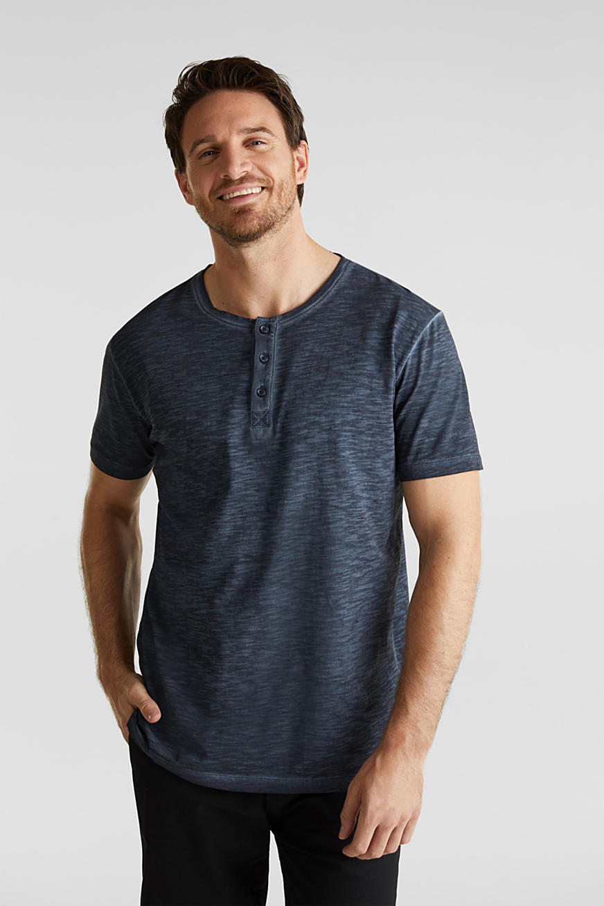 Slub jersey T-shirt made of organic cotton