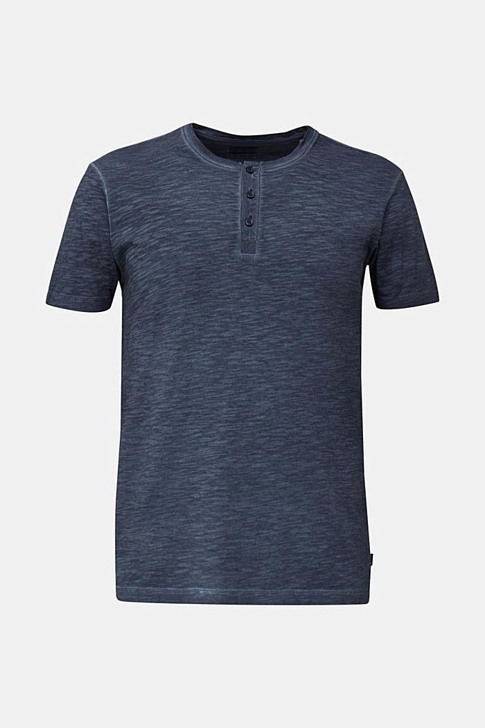 Slub Jersey-Shirt aus Organic Cotton, NAVY, detail image number 5