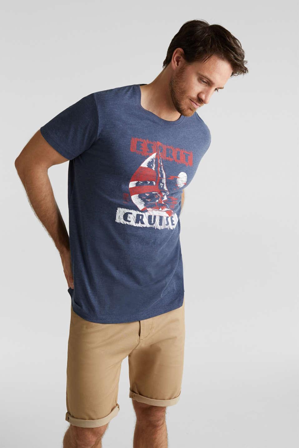 Printed jersey T-shirt, NAVY 5, detail image number 4